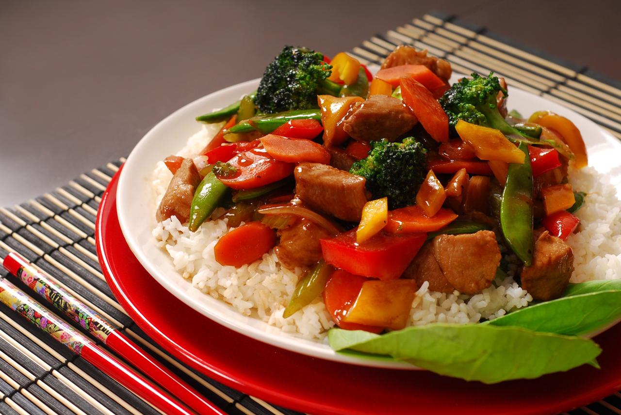 chinese keuken lam